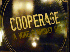 Cooperage: A Wine & Whiskey Bar