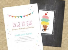 Ice-Cream-Party-Invitation-and-Thank-You-front
